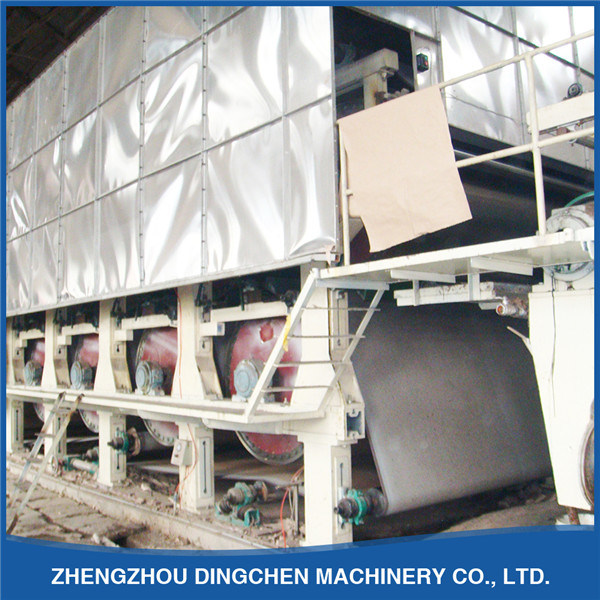 Corrugated Paper Craft Paper Making Machine with Big Capacity