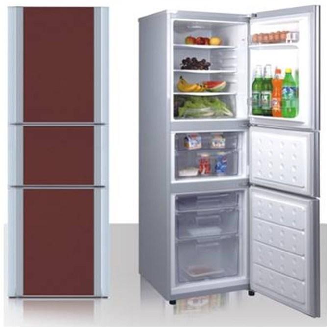 Three Door Refrigerator 218L