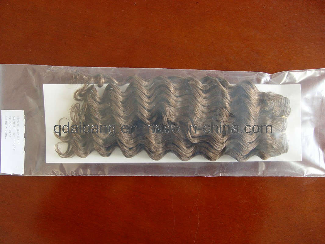 Mix color hair weft ib w008