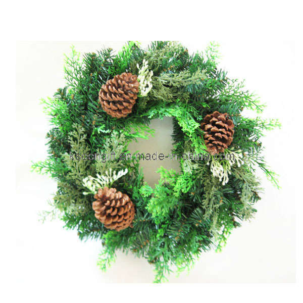 China Outdoor Christmas Wreath Decorations 1006013
