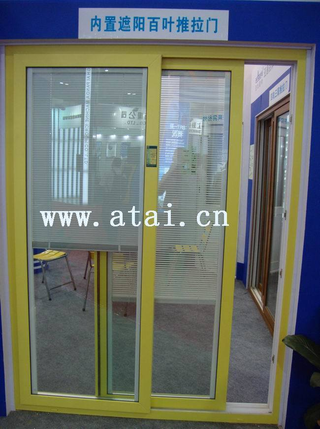 China pvc double glazing sliding doors insulated glass for Insulated double doors