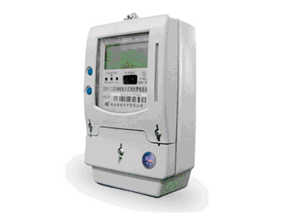 Electrical Power Meter : China cup card prepaid electrical power meter