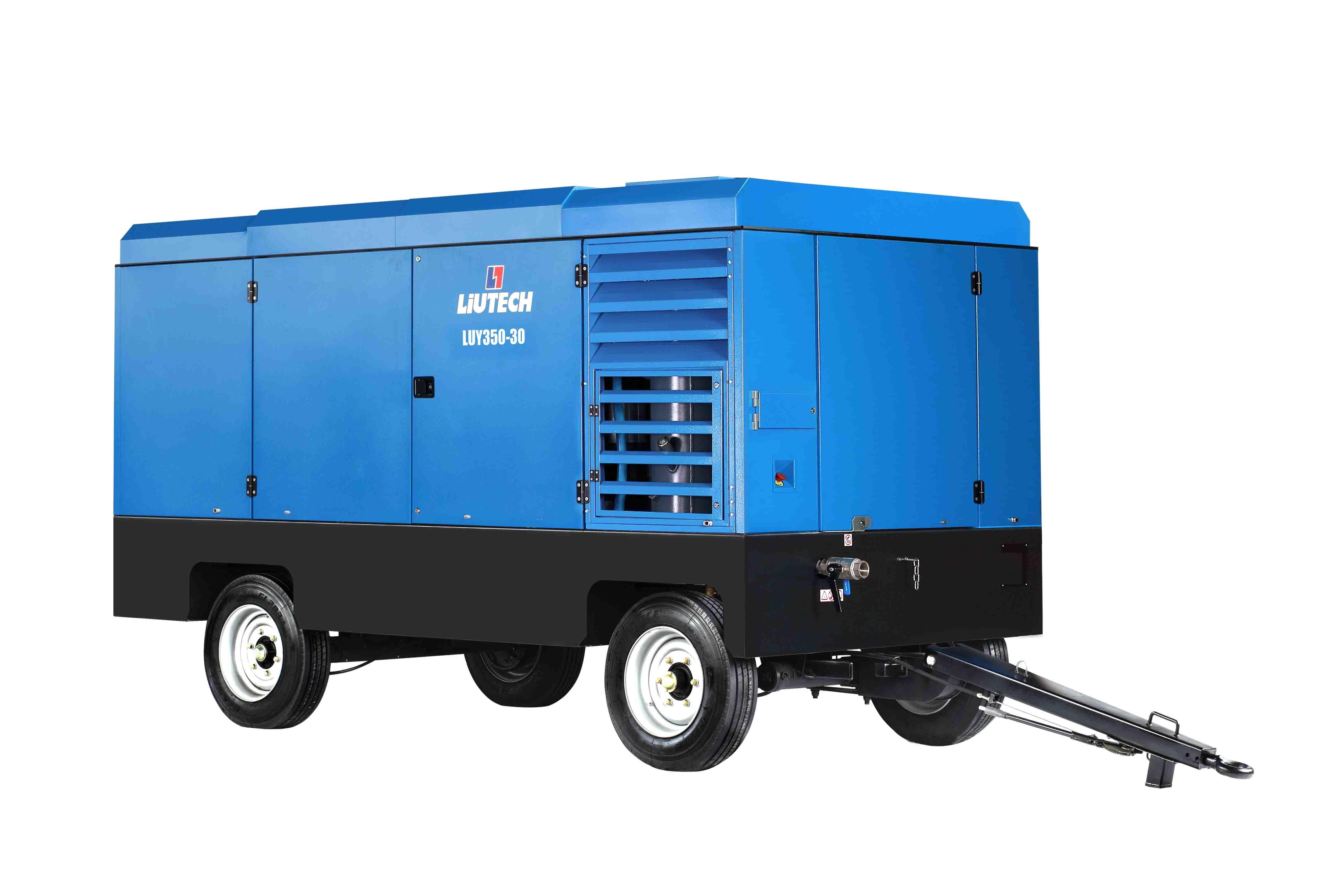 Atlas Copco Liutech 30bar High Pressure Portable Air Compressor