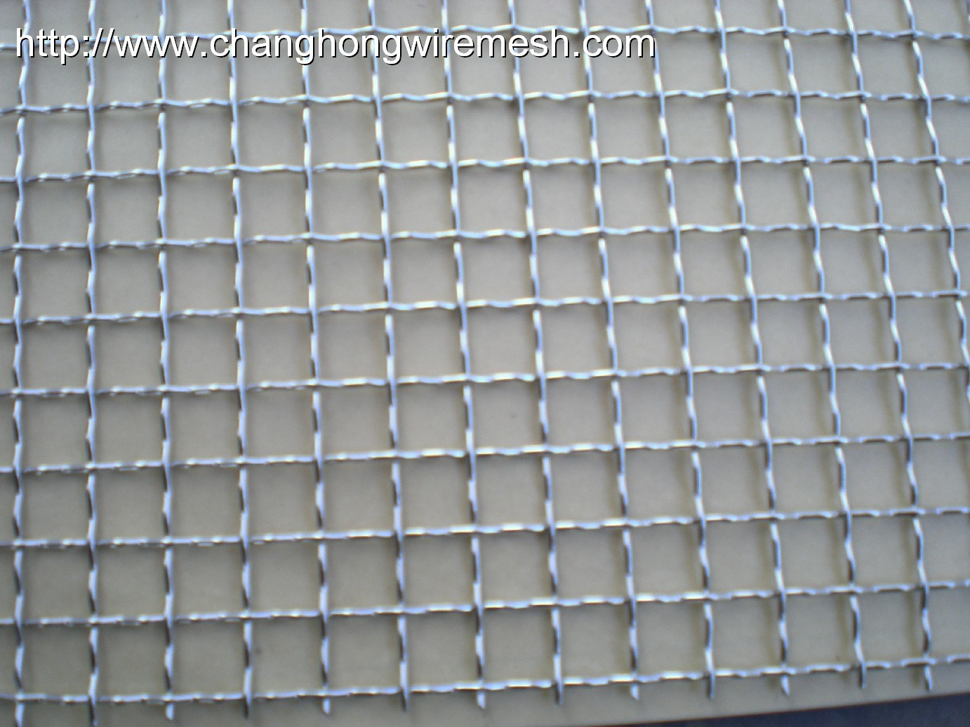 Crimped Wire Mesh : China stainless steel crimped wire mesh