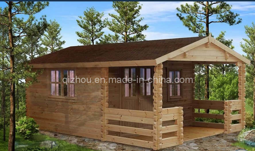 China Outside Wooden House China Prefabricated Wooden