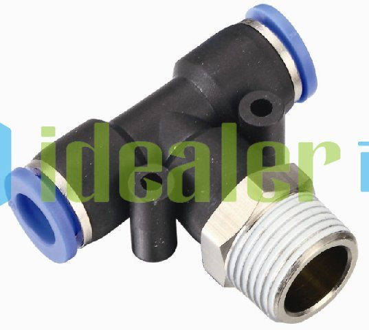 Leading in one touch fittings bspp bspt npt thread pt
