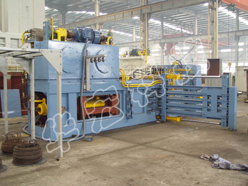 Hydraulic Waste Paper Baler Machine