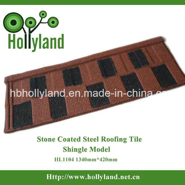 Stone Coated Steel Roofing Sheet--Shingle Type
