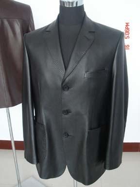 Custom Sports Jacket: Leather Blaze