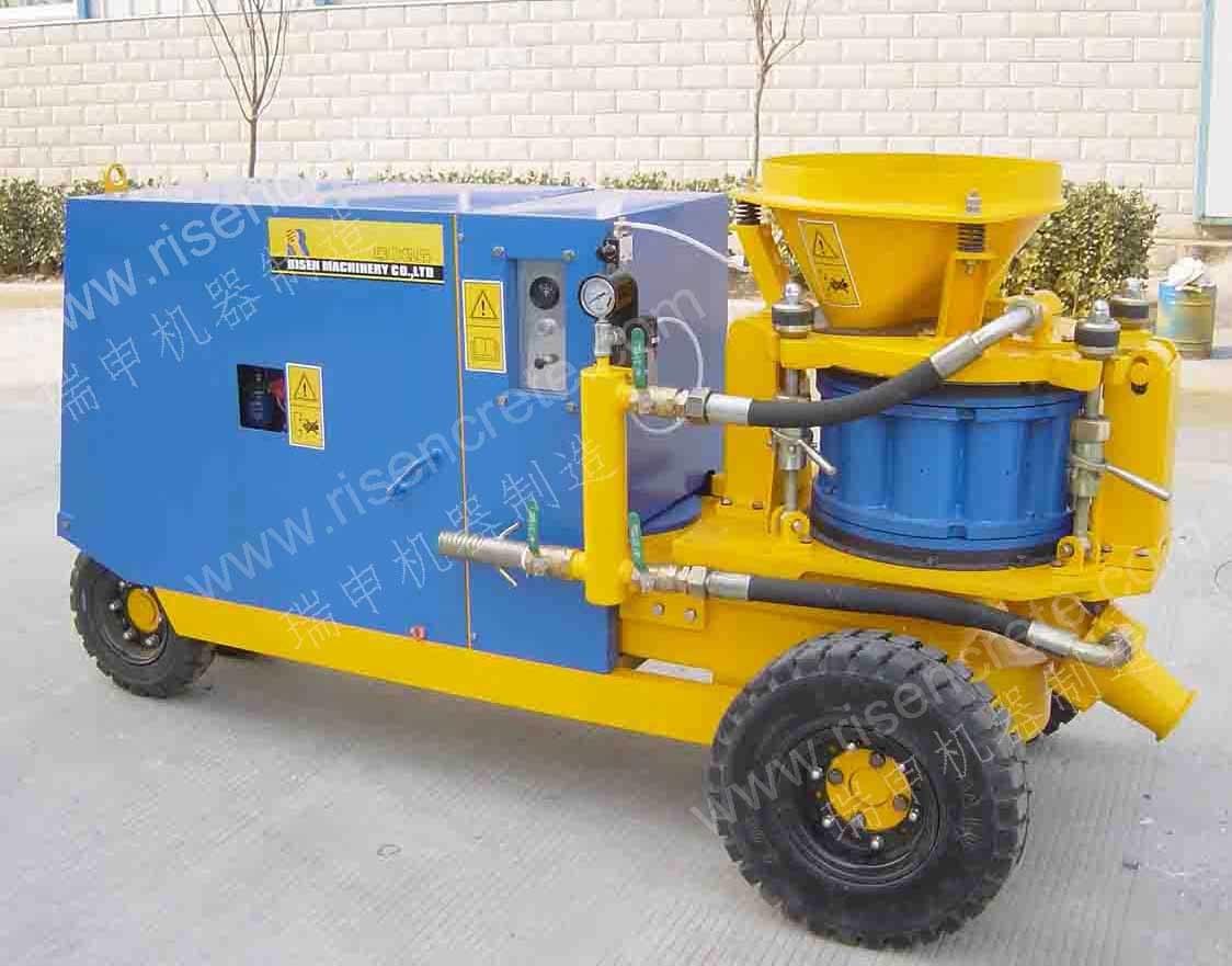 RISEN PZ-9 Concrete Spraying Machine with Diesel Engine
