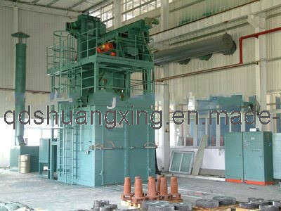 Trolley Type Shot Blasting Machine