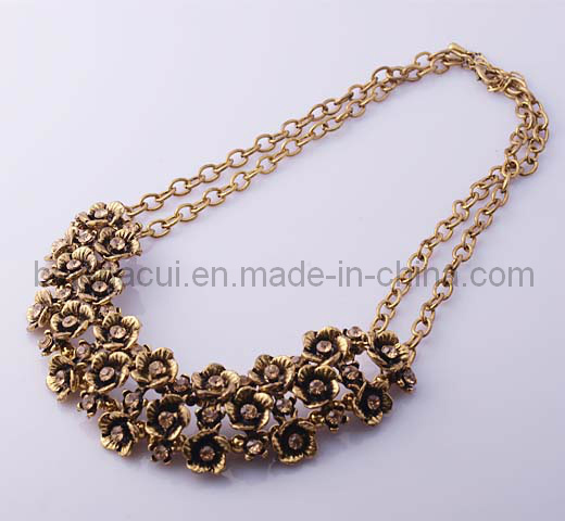 Flower Design Necklace for Girl