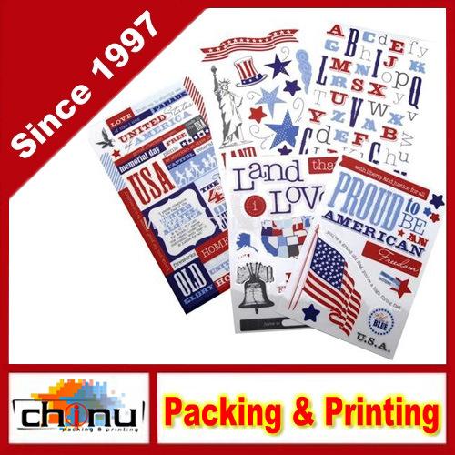 Glitter Sticker Flip Value Pack, Patriotic (440015)