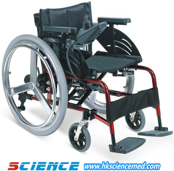 Foldable Aluminum Power Wheelchair (SC-EW09(2))