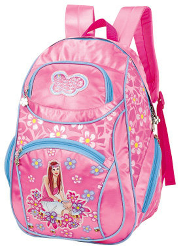 Attractive Princess Printing School Backpack for Girls (BTS0018)