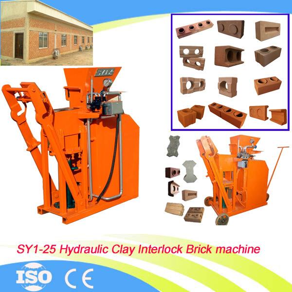 manual clay brick making machine