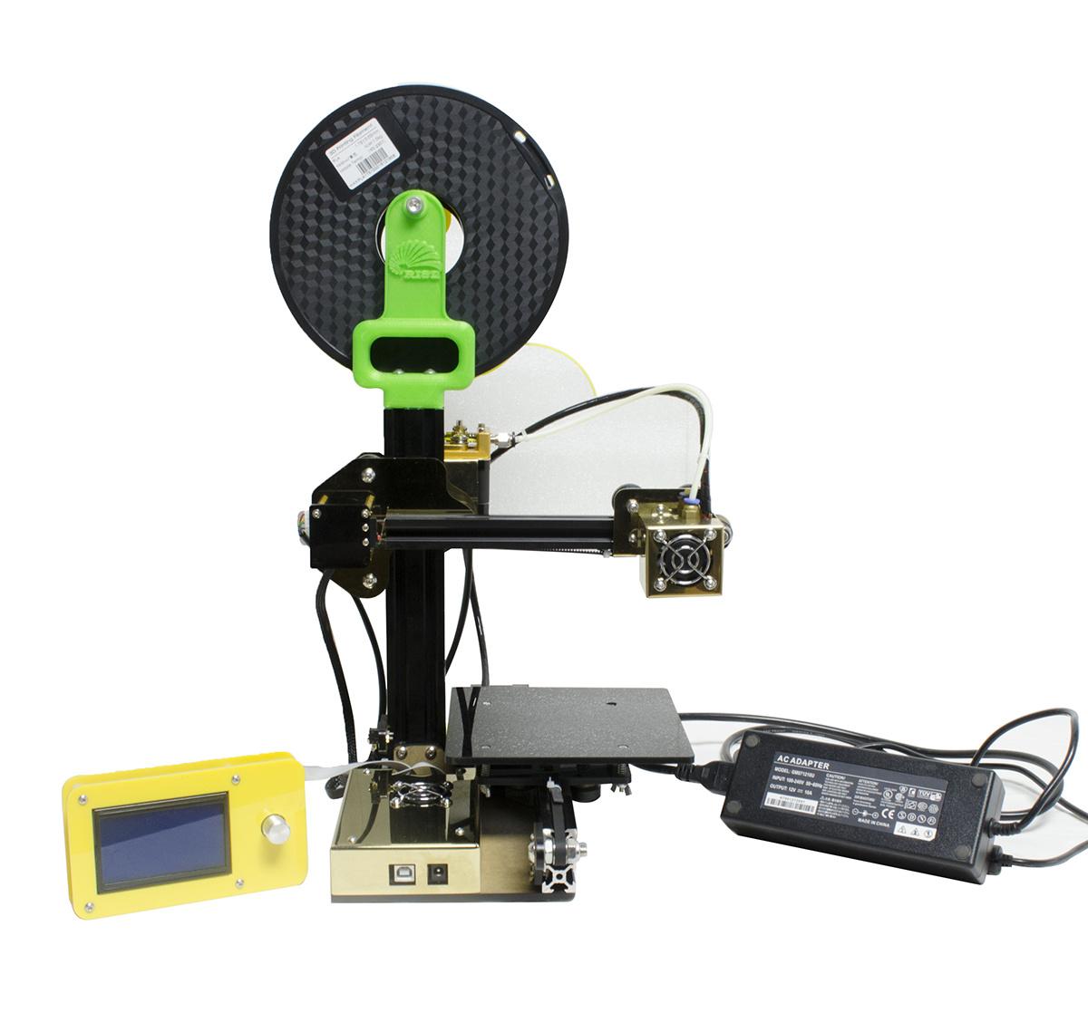 2017 Mini Portable Rapid Prototype Fdm Desktop DIY 3D Printer