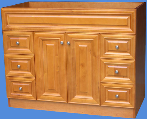 Bathroom Cabinets Solid Wood Vanity #Yb-121 (10)