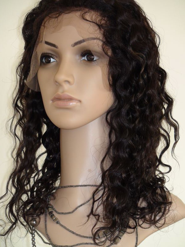 100% Virgin Brazilian Hair Full Lace Stretch Lace Wigs