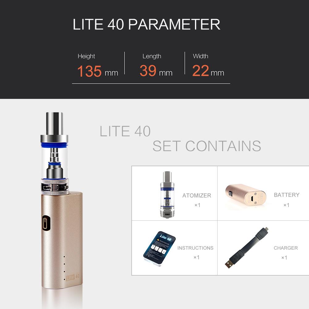 2016 Hot Selling Cheap Price Mini Lite 40W Box Mod E Cigarette Wholesale Jomotech Lite 40