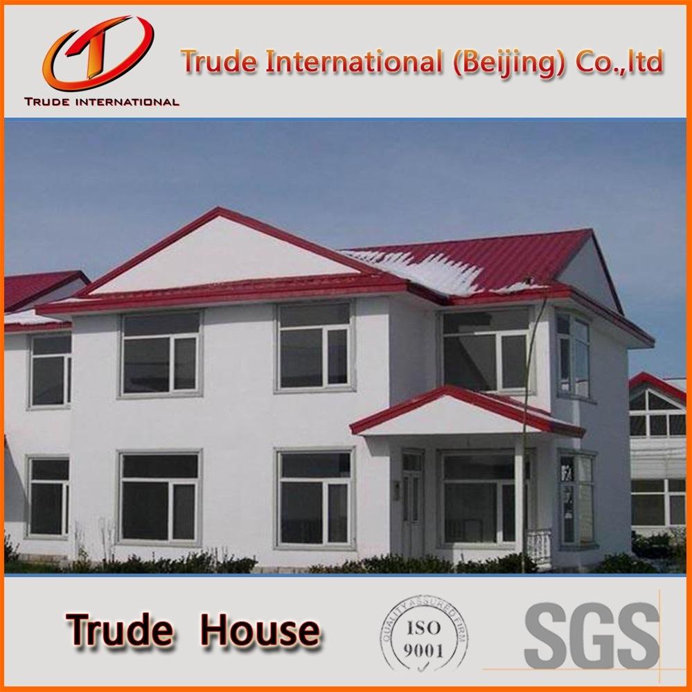 Customized Light Gauge Steel Frame Modular Building/Mobile/Prefab/Prefabricated Two Floors Family House