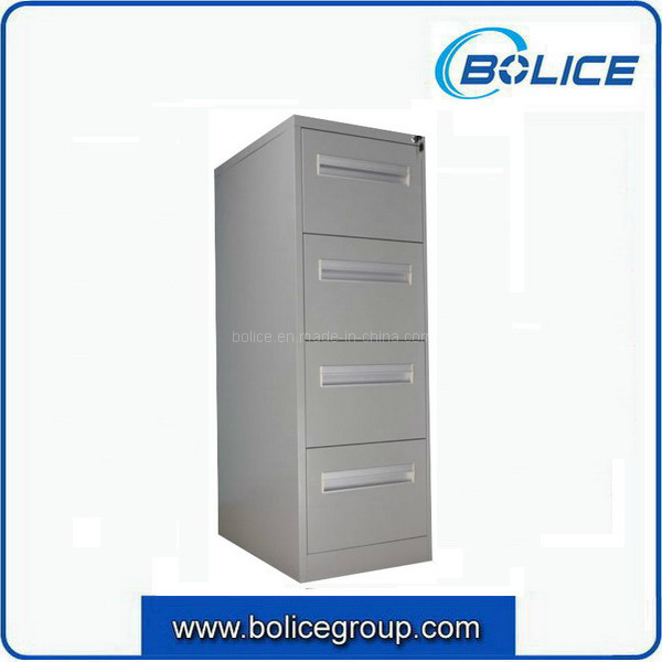 Commercial Office Steel Vertical 4 Drawer Filing Cabinet