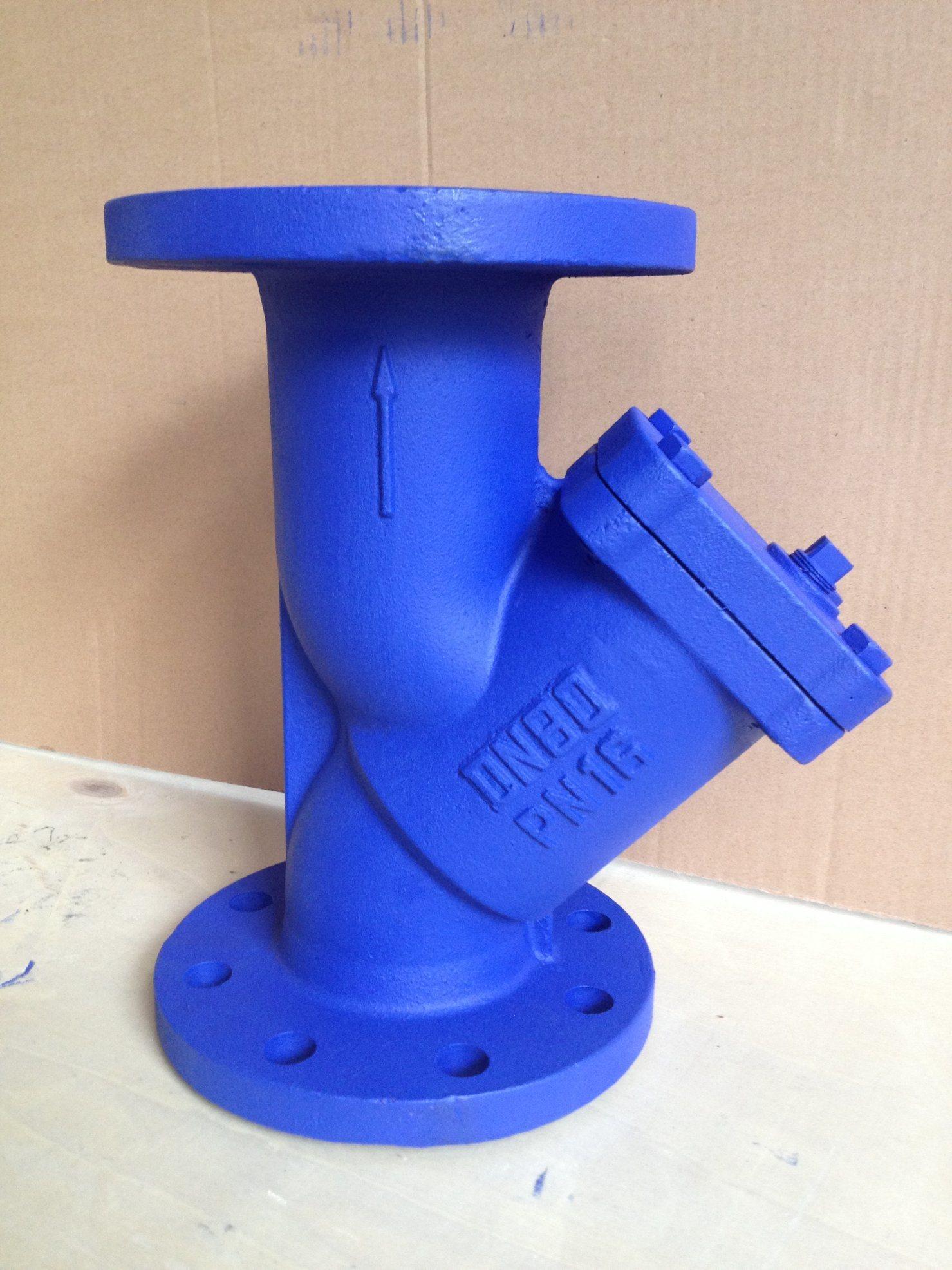 DIN Cast Iron Y type Strainer PN 16