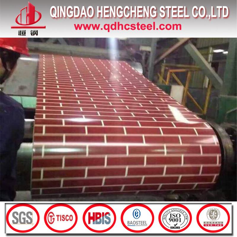 Wooden Pattern PPGI Coil/Flower Grained PPGI/Prepainted Steel Coil