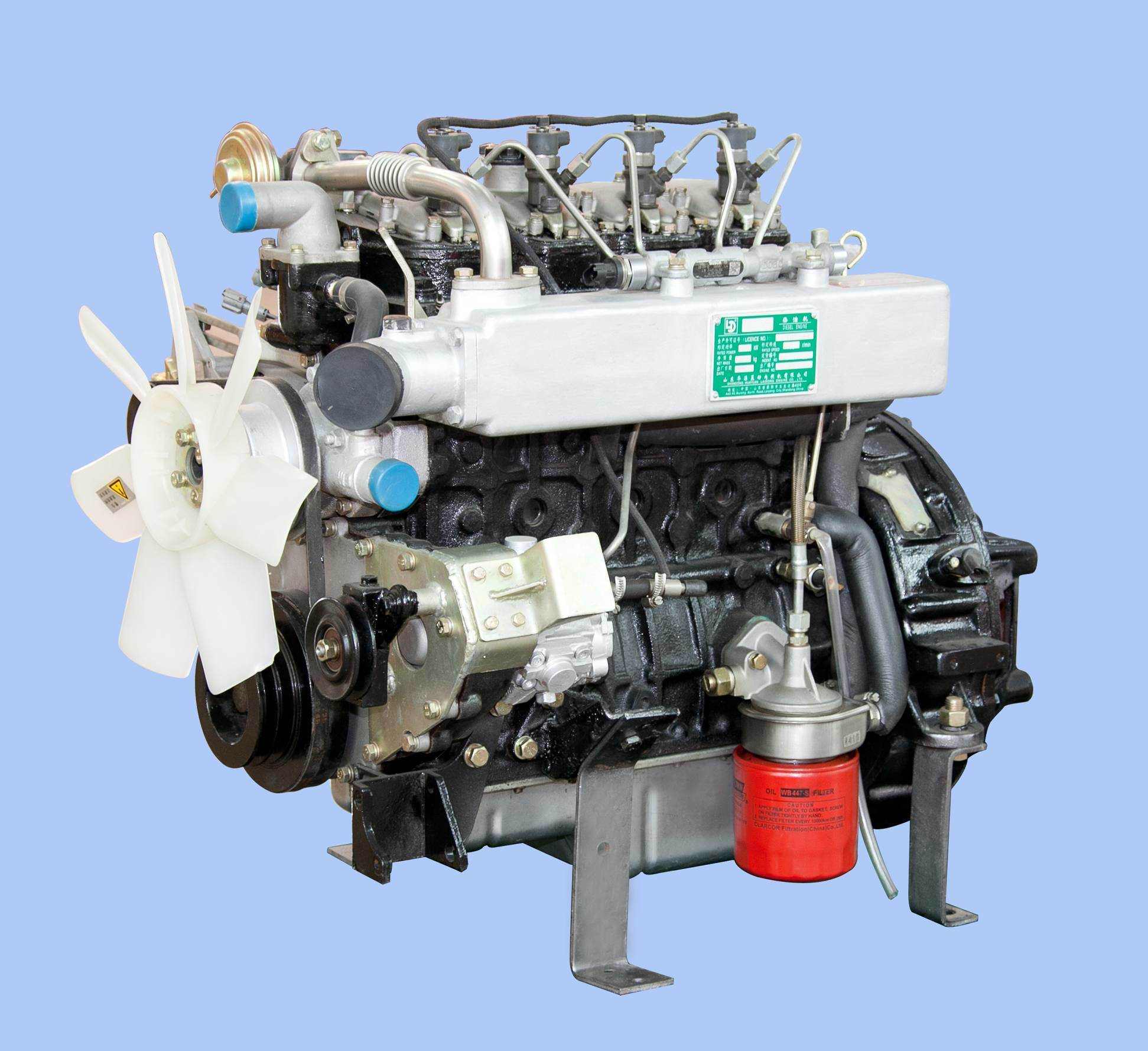 Laidong Diesel Engine for Automobile (35HP-110HP)
