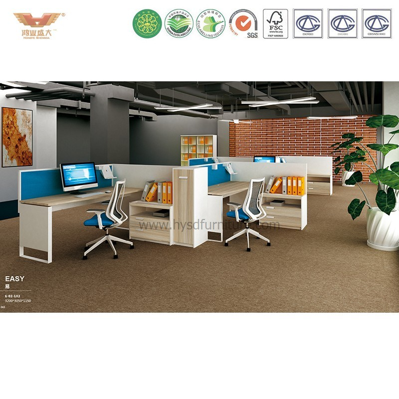 Chinese Reliable Furniture Supplier L Shape Office Cubicle Office Workstation