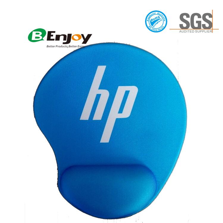 Ergonomic Gel Wrist Rest Mouse Pad with Custom Logo Printing