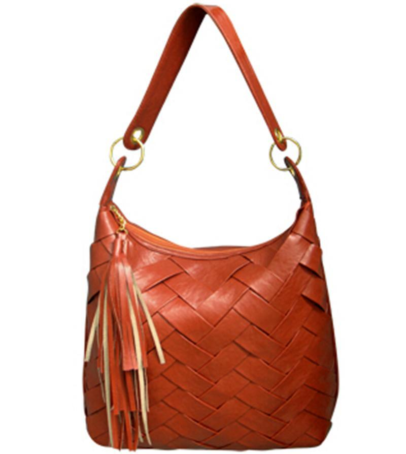Fashion Women′s PU Handbags with Braid Pattern (MZ35)