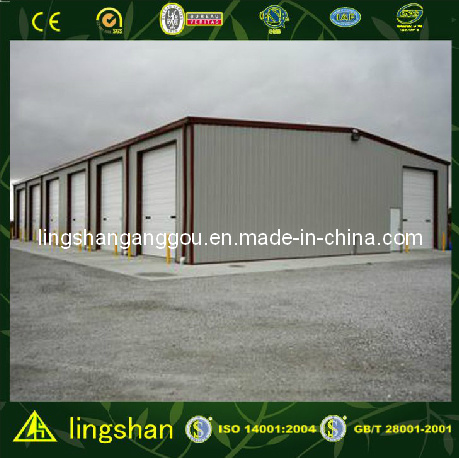 Steel Strcture Garage with ISO Certification (LS-SS-023)