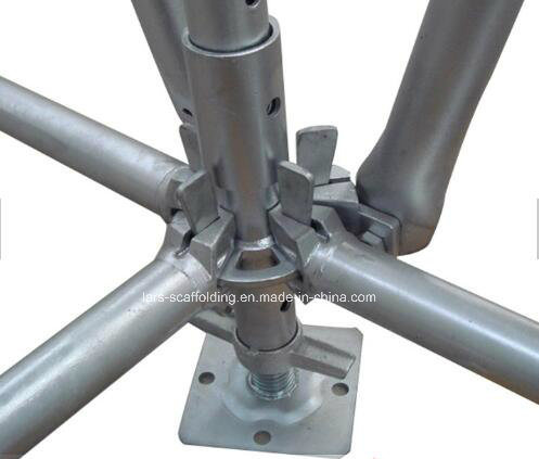 Galvanized Steel Ringlock Scaffold System for Construction