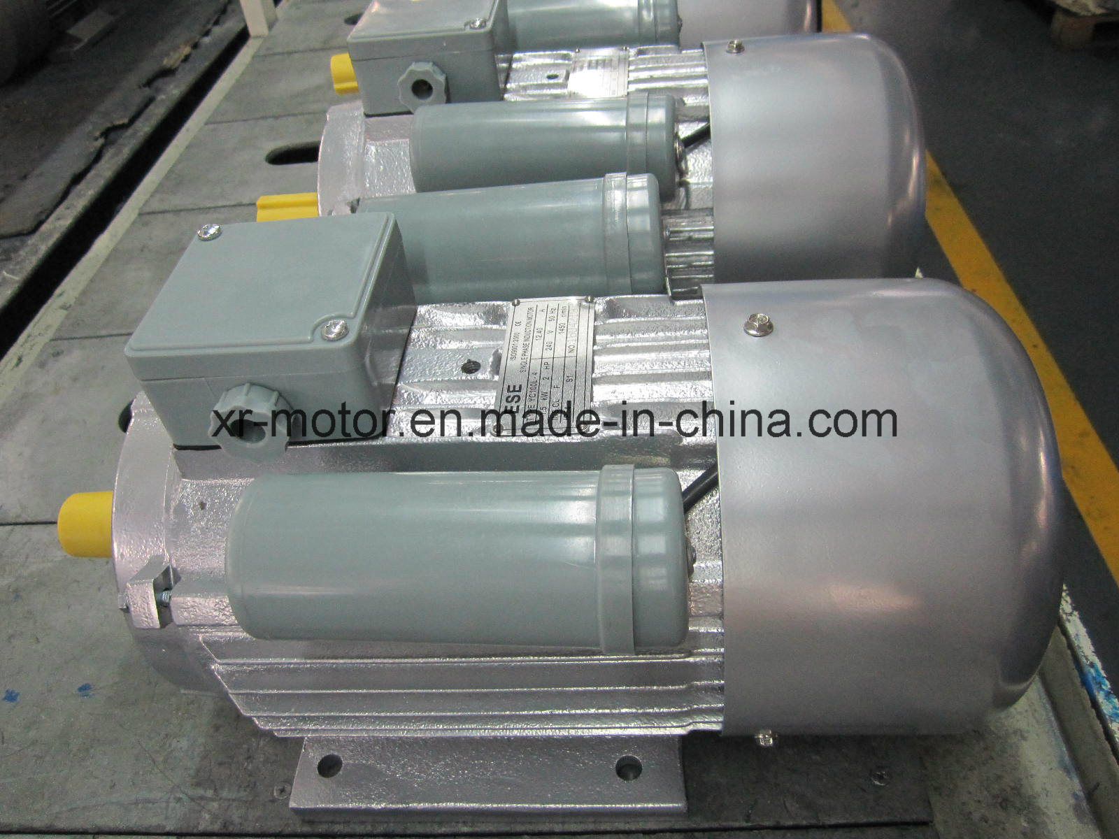 Running Capacitor Single Phase Motor for Sale with Ce (MY63M1-2)