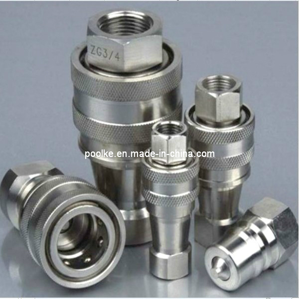 Stainless Hydraulic Quick Coupler : China quick coupling pipe fittings push in