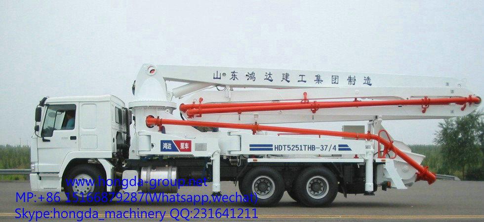 37m Concrete Pump with Boom