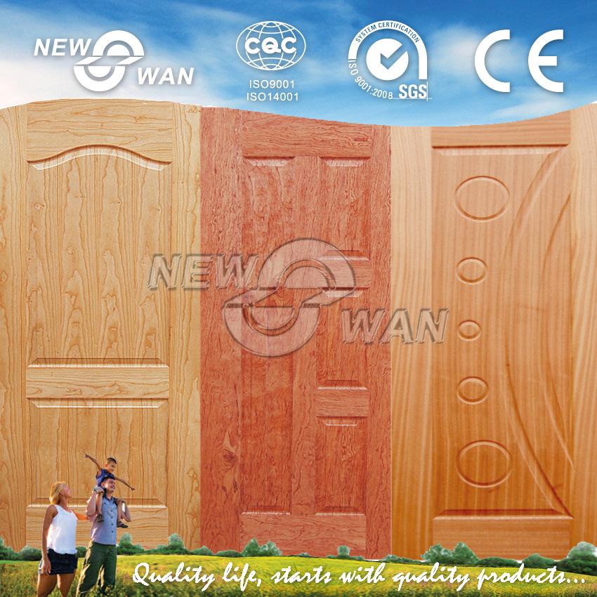 Sapeli Veneer HDF Moulded Door Skins