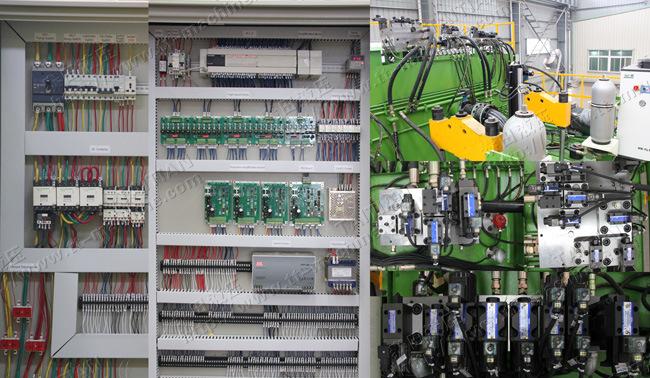 Metalworking Press Water Tank Hydraulic Press 800 Tons