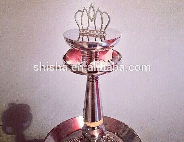 Fashion Crown Hookah Accessories Stainless Shisha Hookah Bowl Head