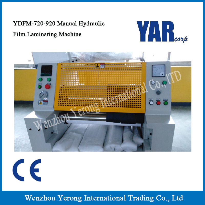 Popular Ydfm-720/920 Manual Hydraulic Laminator with Ce