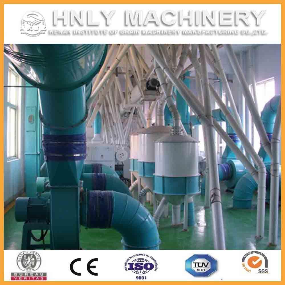 100t/D Complete Low Price Corn Milling Machine/Maize Flour Grinding Mill Machine