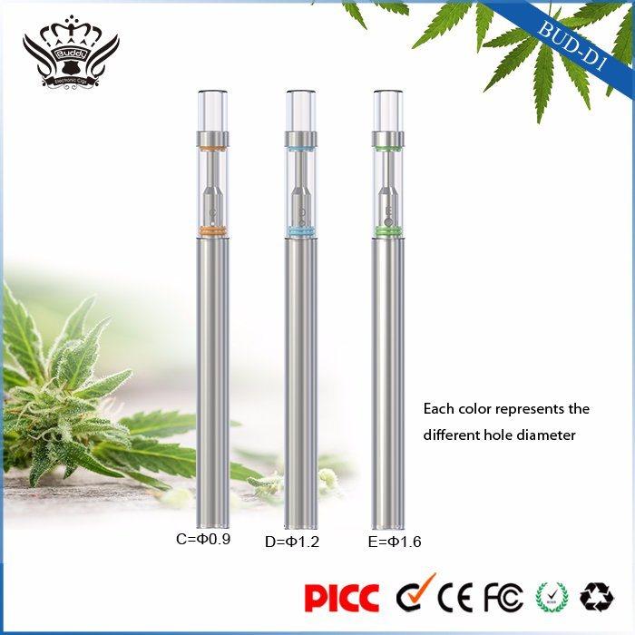 Bud Structure D1 310mAh 0.5ml Glass Ceramic Atomizer Disposable Electronic Cigarette