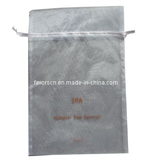 Organza Pouch with Logo Printing (sheer organza bag)