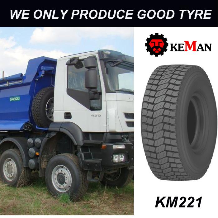 Km221 Drive Truck Tyre, Radial Tyre