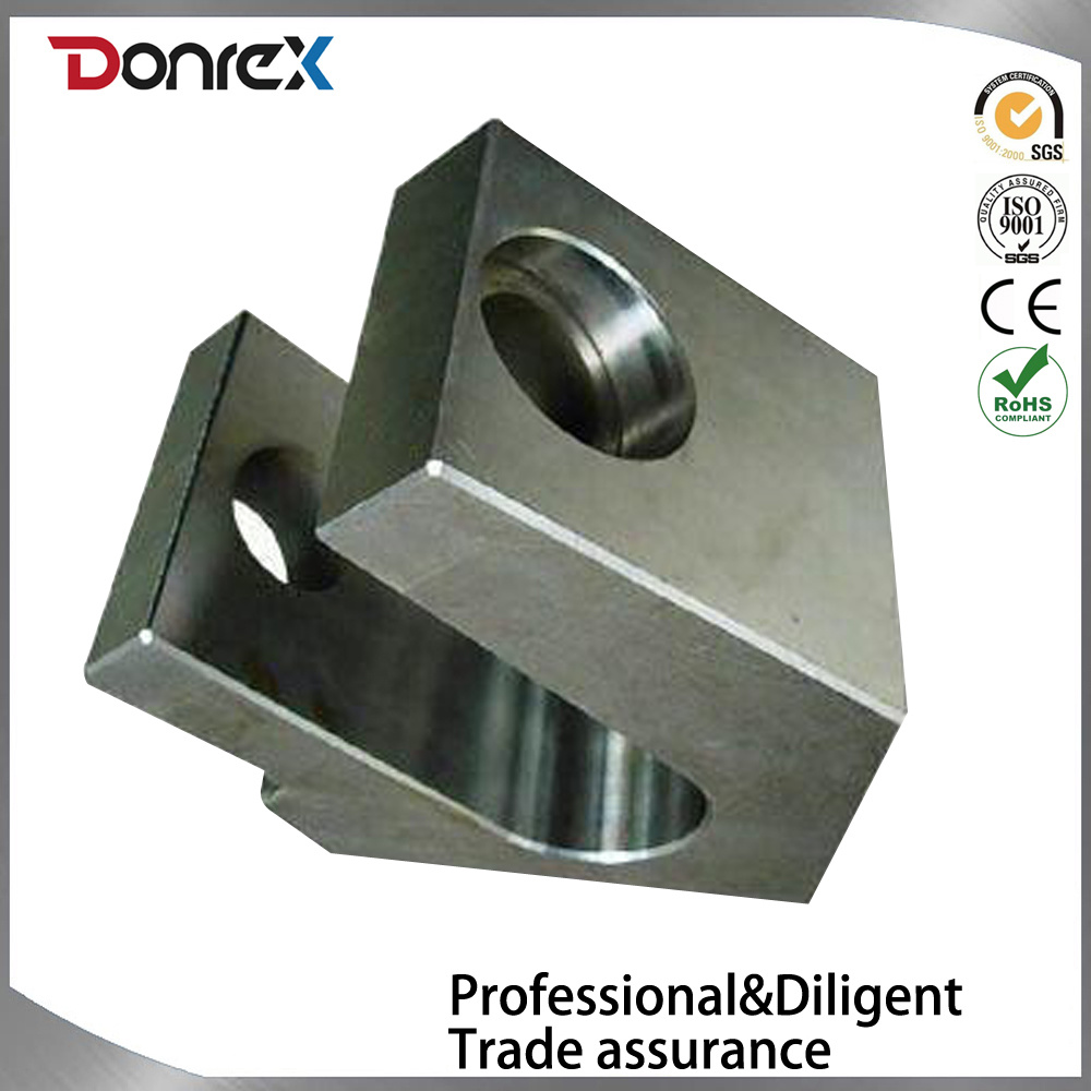 Custom steel CNC machining part with sandblasting