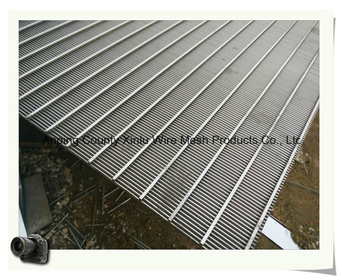 Stainless Steel Wedge Wire Filter Panel