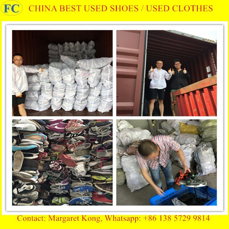 2016 Used Men & Lady Fashion Sports Shoes for Sale
