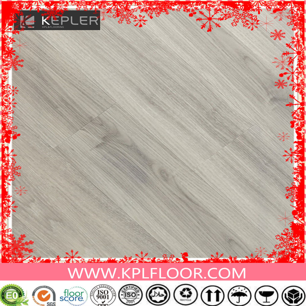 Indoor and Commercial Wood Grain Interlocking Lvt PVC Vinyl Floor