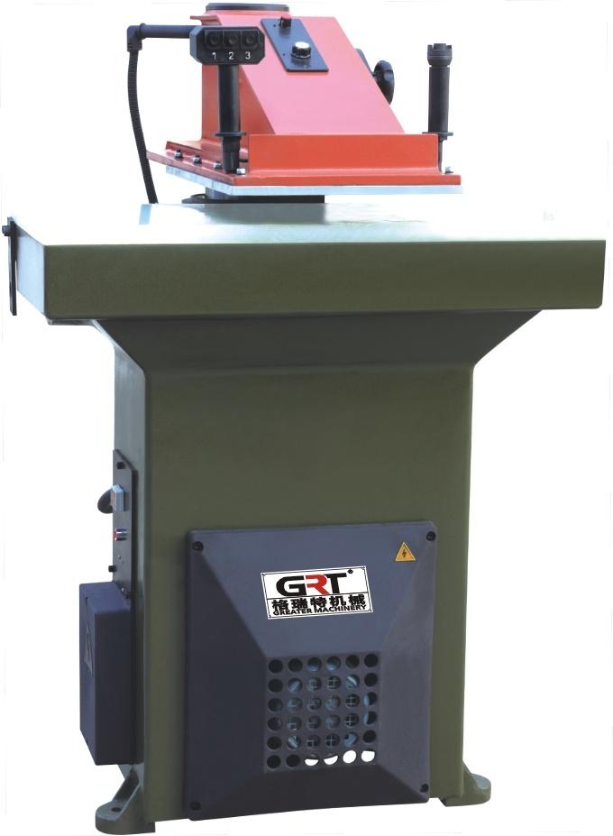 22T Hydraulic Swing Arm Cutting Press with 3 Keys